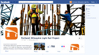 Facebook page for Portland-Milwaukie Light Rail Transit Project